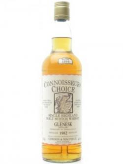 Glenesk 1982 / Map Label / Connoisseurs Choice Highland Whisky