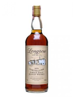 Longrow 1974 / 16 Year Old / Sherry Cask Campbeltown Whisky