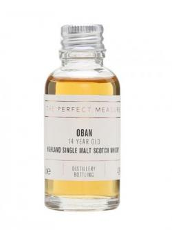 Oban 14 Year Old Sample Highland Single Malt Scotch Whisky