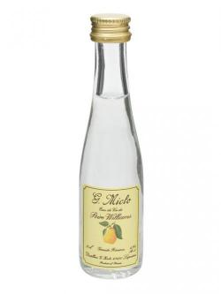 Poire William Eau de Vie Miniature / G. Miclo