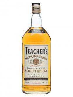 Teacher's Highland Cream / Bot.1980s / 1 Litre Blended Scotch Whisky