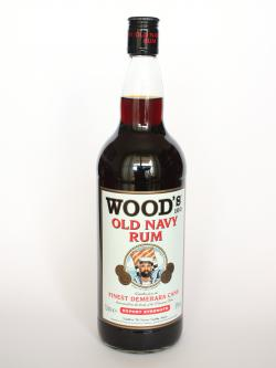 Wood's 100 Navy Rum Front side